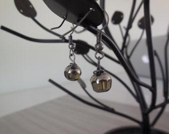 LIQUIDATION - Earrings silver stones