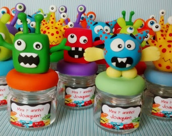 Monster Glass Containers
