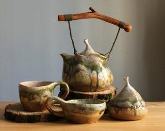 Moss Tea Set