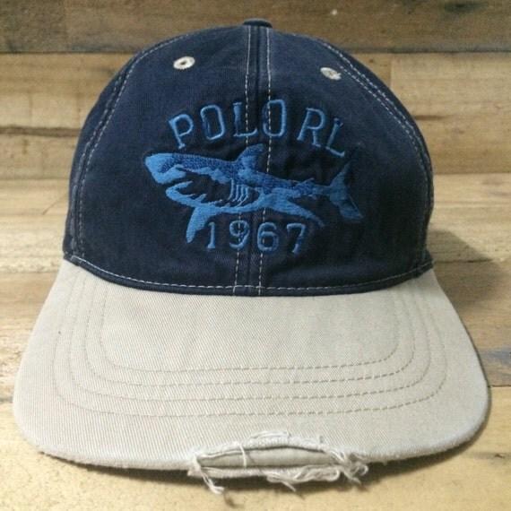 Vtg polo ralph lauren cap hat rl 67 stadium golf fishing for Polo fishing hat