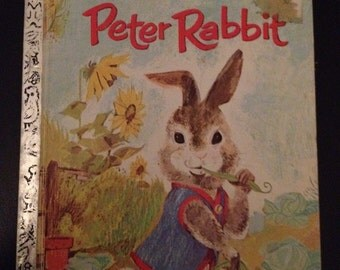 a Little Golden Book - Peter Rabbit (1970)