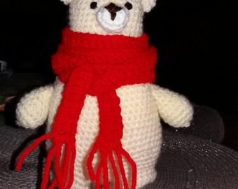Bear amigurumi to hook or blanket deco