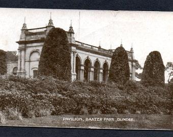 Pavilion, Baxter Park.Dundee.Angus..Postcard.