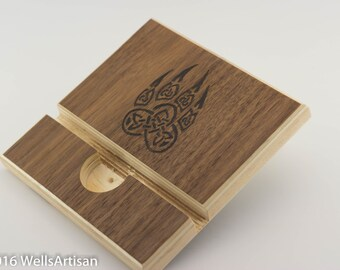 Celtic Paw Tablet Stand