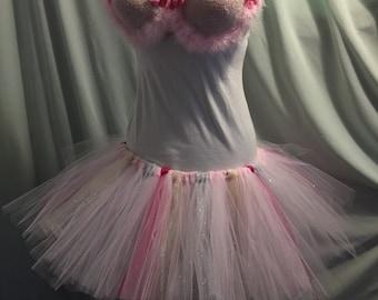 Cotton Candy dancewear rave