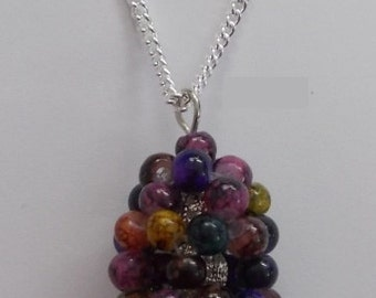 Multi Jewel Tone Necklace