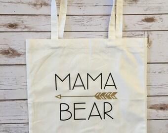 Mama Bear Market Tote Bag / Tote / Shopping