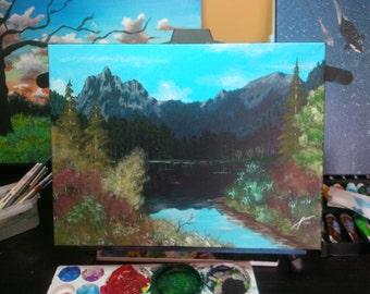 Into the Lake - Original Acrylic Painting