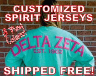Pom Pom Spirit Jersey Style Pullover SHIPPED FREE!