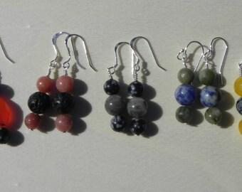 Crystal/Gemstone Earrings