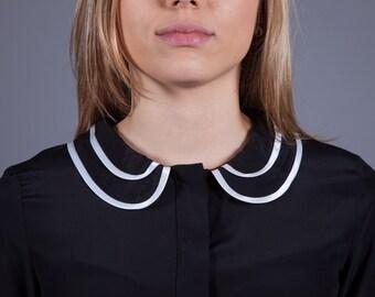 Model SONIA - 100% silk shirt