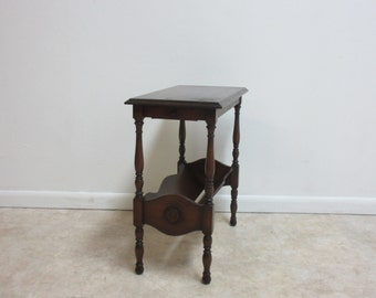 Bombay Company Cherry Lamp End Table By Zbrothersfurniture