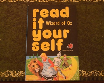 Read It Yourself. The Wizard of Oz. Ladybird Book.