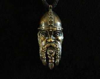 Norseman: Bronze Pendant