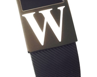 Personalized Titanium Color Ornament For  Fitbit Charge HR Smart Band