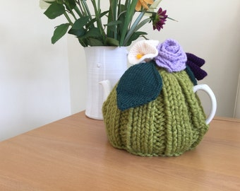 Knitted and Crocheted Tea Cosy