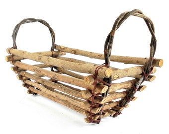 Handcrafted Primitive Twig Serving Tray