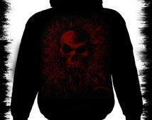 blood vamp zipper hoody