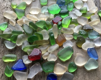 Tiny Sea Glass from Glass Beach, 100+ piceces