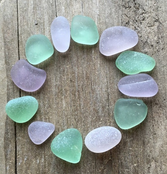 purple green sea glass mix. Black Bedroom Furniture Sets. Home Design Ideas