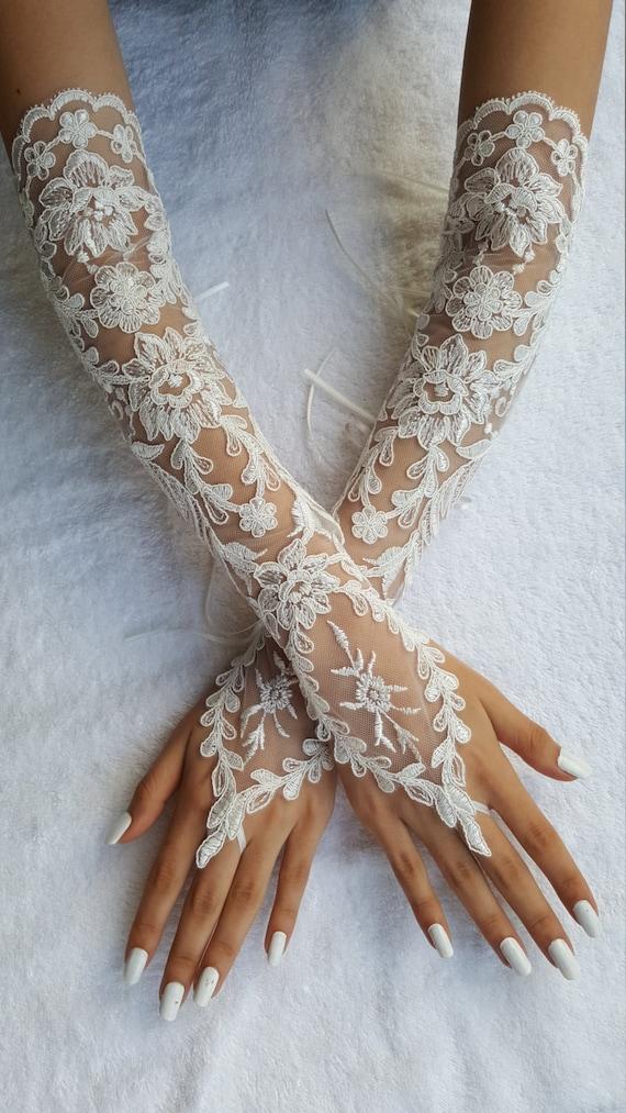 lace gloves wedding gloves fingerless gloves party gloves prom