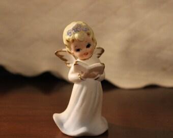 "3 1/2 "" Norcrest Japan Singing Angel Figurine"