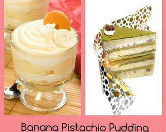Banana Pistachio Pudding Wax Tart Melt