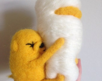 """Jake The Dog """"I love you everything burrito"""" Soft Sculpture"""