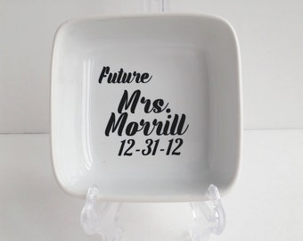 Future Mrs Ring Holder - Engagement - Ring Dish