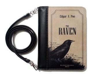 """Book clutch """"Raven"""""""