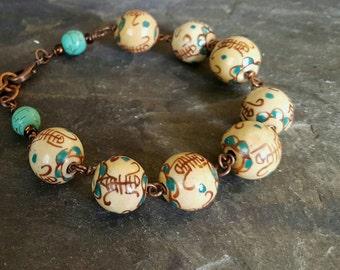 Ceramic Desert - bracelet