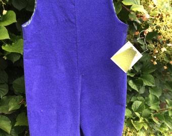 Royal Blue JonJon Size 3t