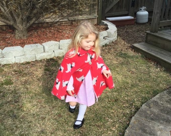 Red Cape Size 5