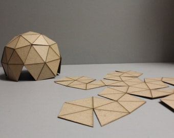 desk dome / Buckminster Fuller dome