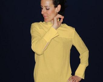 Sizes 6 to 16. pdf pattern for Blouse Front Yoke. digital sewing pattern for women. SEWING PATTERN DESIGNSesigns