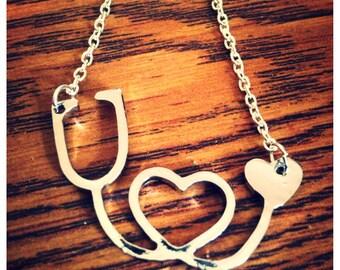 Sethoscope Necklace, Nurse Necklace