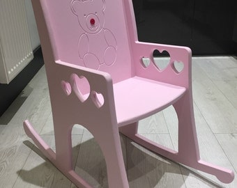 Personalised Childrens Rocking Chair