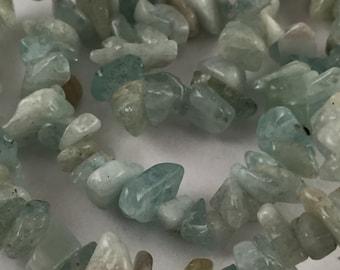 Beads, Chips, Green Chips, Amazonite Chips, Light Green Chips, Green Amazonite Chips,