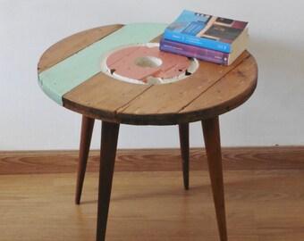 Moon wood table