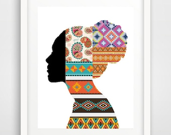 African wall art, cool posters, african decor, dining room wall art, afrocentric art, cool wall art, african woman, dorm room art