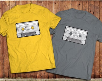 Retro Mixtape T-Shirt,Vintage anologue cassette tape, classic 1980's, the eighties