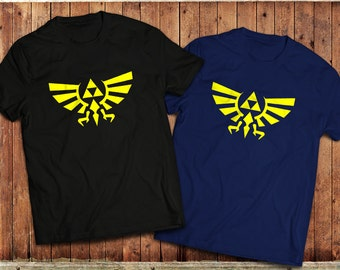 Retro Zelda T-Shirt, Vintage gaming PC, classic Legend of Zelda isnpired Tee.