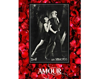 Amour Valentine Card