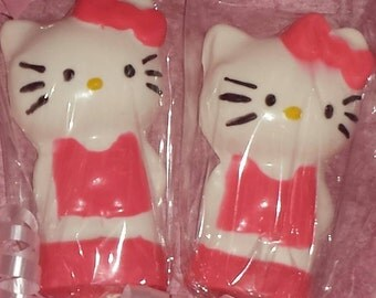 Hello Kitty Chocolate Lollipop Party Favors