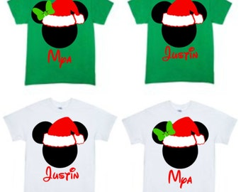 Christmas Mickey or Minnie T-Shirt - Mickey's Very Merry Christmas Party