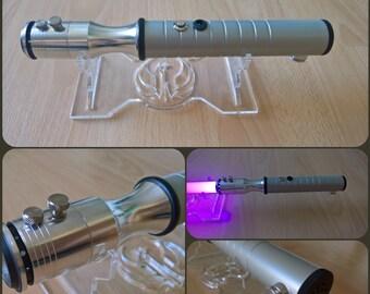 "Custom ""Librator"" lightsaber with sound, combat-ready"
