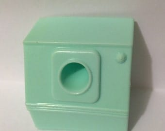 "Marx Laundry Room Dryer Vintage Plastic Dollhouse Furniture 3/4"" scale"