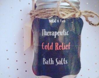 Therapeutic Bath Salts