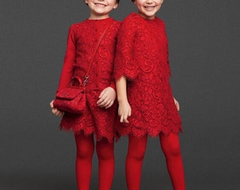 Mini lady in red