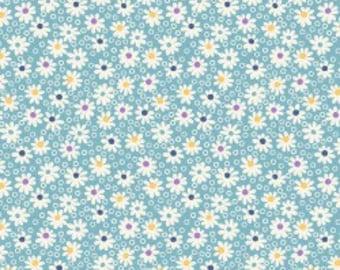Walk in the Park - Daisy Dots Blue